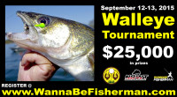 This annual walleye tournament is set for September 12 and 13, 2015 at Mattagami Lake. They have an itinerary that is totally hard to resist!