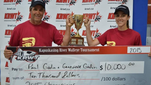 In the end it was the team that managed to put together 2 consistent days of walleye fishing to take the win by just over 2 pounds...