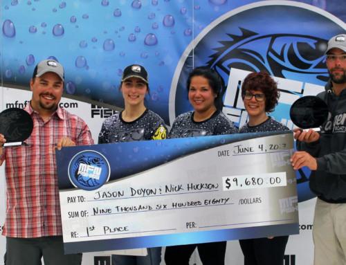 Doyon and Huckson Win at 2017 MFN Walleye Tournament